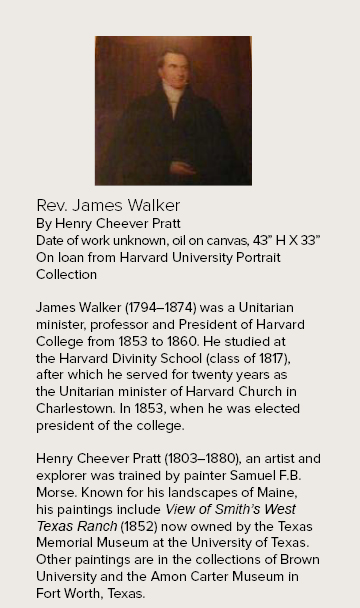 Rev. James Walker at the Harvard Club of Boston | Harvard Club